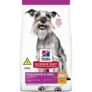 Ração Seca Hills Science Diet para Cães Adultos 7+ Raças Minis e Pequenas