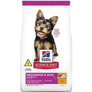Ração Seca Hills Science Diet para Cães Filhotes de Raças Minis e Pequenas