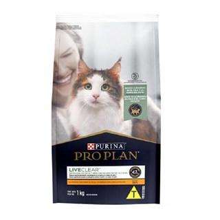 Ração Seca Nestlé Purina Pro Plan Live Clear Frango para Gatos Adultos