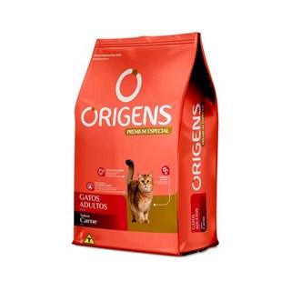 Ração Seca Origens Premium Especial Carne Gatos Adultos