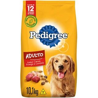 Ração Seca Pedigree Carne. Frango e Cereais para Cães Adultos Raças Médias e Grandes