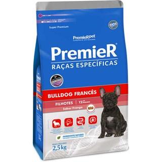 Ração Seca Premier Pet Raças Específicas Bulldog Francês para Cães Filhotes