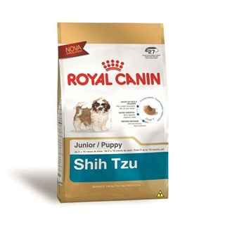 Ração Seca Royal Canin Puppy Shih Tzu para Cães Filhotes