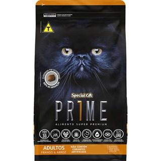 Ração Special Cat Prime 2ª Geração Sabor Frango e Arroz para Gatos Adultos