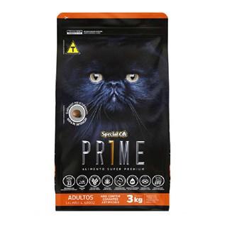 Ração Special Cat Prime 2ª Geração Sabor Salmão e Arroz para Gatos Adultos