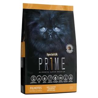 Ração Special Cat Prime 2ª Geração Sabor Salmão e Arroz Para Gatos Filhotes