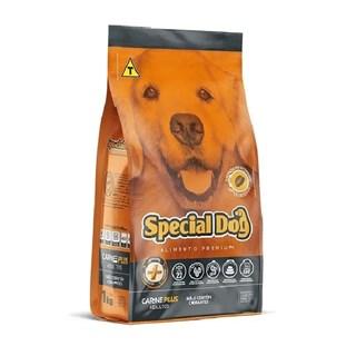 Ração Special Dog Plus Sabor Carne para Cães Adultos
