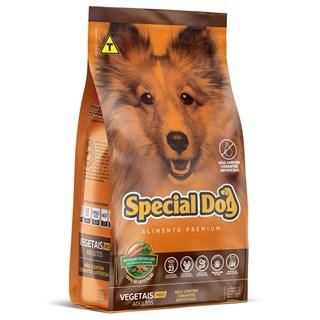 Ração Special Dog Pró Sabor Vegetais para Cães Adultos