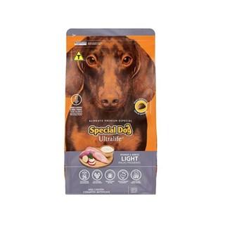 Ração Special Dog Ultralife Light para Cães Adultos de Raças Pequenas