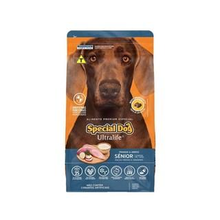 Ração Special Dog Ultralife para Cães Sênior de Raças Médias e Grandes