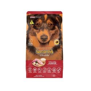 Ração Special Dog Ultralife Sabor Frango e Arroz para Cães Filhotes de Raças Médias e Grandes