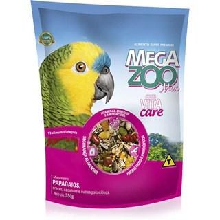 Ração Super Premium Megazoo Mix para Papagaios