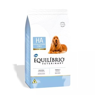 Ração Total Equilíbrio Veterinary Hypoallergenic para Cães com Problema de Pele