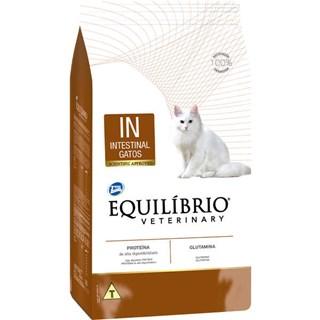 Ração Total Equilíbrio Veterinary Intestinal Para Gatos Adultos