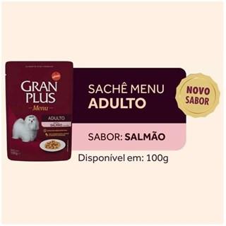 Ração Úmida Affinity GranPlus Menu Sabor Salmão para Cães Adultos