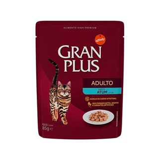 Ração Úmida Affinity Granplus Sabor Atum para Gatos Adultos
