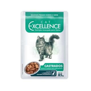 Ração Úmida Cat Excellence para Gatos Adultos Castrados