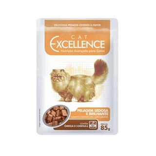 Ração Úmida Cat Excellence Pelagem Sedosa para Gatos Adultos
