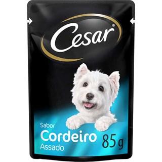Ração Úmida Cesar Sabor Cordeiro Assado Ao Molho Para Cães Adultos