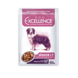 Ração Úmida Dog Excellence 7 + para Cães Sênior