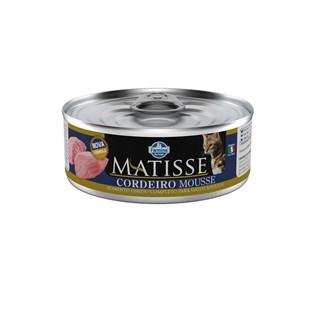 Ração úmida Farmina Matisse Cordeiro Mousse para Gatos Adultos