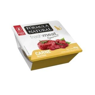 Ração Úmida Fórmula Natural Fresh Meat Gourmet Carne Desfiada para Gatos Adultos
