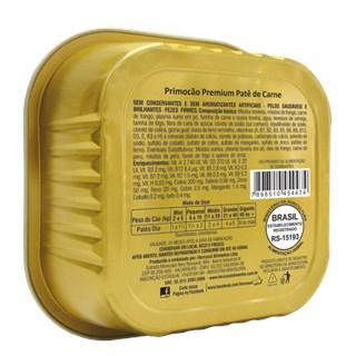Ração Úmida Hercosul Primocão Patê Sabor Carne Para Cães Adultos