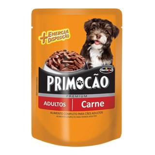 Ração Úmida Hercosul Primocão Sabor Carne Para Cães Adultos