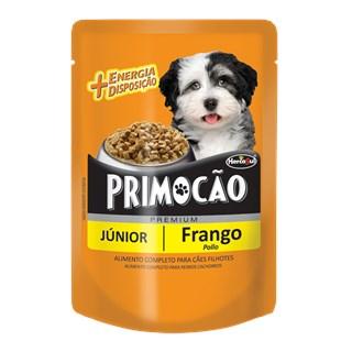 Ração Úmida Hercosul Primocão Sabor Frango Para Cães Filhotes