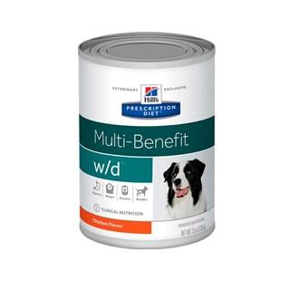 Ração Úmida Hills Prescription Diet W/D Multi-Benefit para Cães Adultos