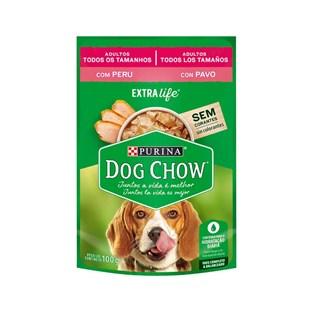 Ração Úmida Nestlé Purina Dog Chow Sabor Peru para Cães Adultos
