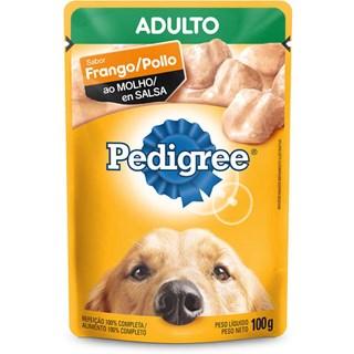 Ração Úmida Pedigree Sachê Vitalpro Frango Ao Molho Para Cães Adultos