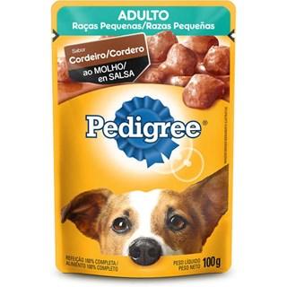 Ração Úmida Pedigree Vital Pro Sabor Cordeiro Para Cães Adultos De Raças Pequenas
