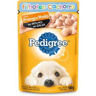 Ração Úmida Pedigree Vital Pro Sabor Frango Ao Molho Para Cães Filhotes