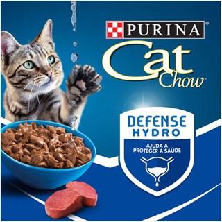Ração Úmida Purina Cat Chow Adultos Carne ao Molho