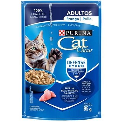 Ração Úmida Purina Cat Chow Para Gatos Adultos Sabor Frango