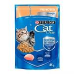 Ração Úmida Purina Cat Chow Para Gatos Filhotes Sabor Frango
