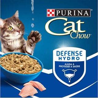 Ração Úmida Purina Cat Chow Peixe ao Molho para Gatos Castrados
