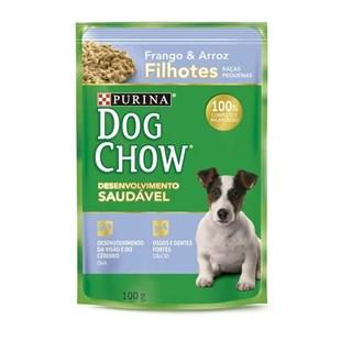 Ração Úmida Purina Dog Chow Carne e Arroz Para Cães Filhotes De Raças Pequenas