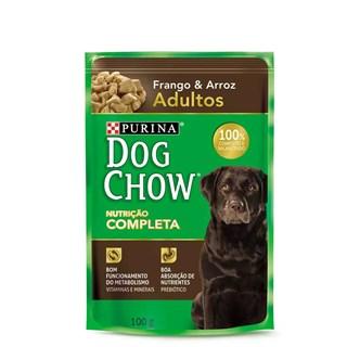 Ração Úmida Purina Dog Chow Frango e Arroz Para Cães Adultos