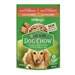 Ração Úmida Purina Dog Chow Para Cães Adultos De Raças Pequenas Sabor Salmão e Arroz