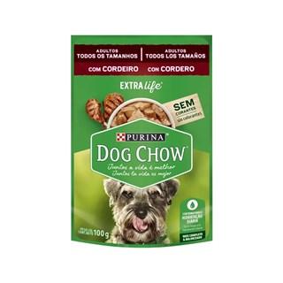 Ração Úmida Purina Dog Chow Sabor Cordeiro para Cães Adultos