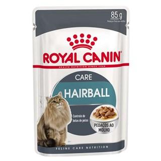 Ração Úmida Royal Canin Feline Health Nutrition Care Hairball Control Para Gatos Adultos