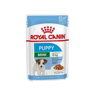 Ração Umida Royal Canin Sachê Size Health Nutrition Puppy Wet para Cães Filhotes Raças Pequenas