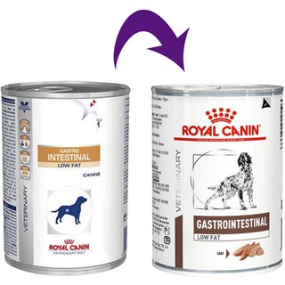 Ração Úmida Royal Canin Veterinary Diet Gastro Intestinal Low Fat para Cães