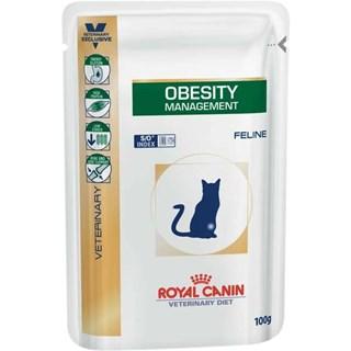 Ração Úmida Royal Canin Veterinary Diet Obesity Management para Gatos Adultos