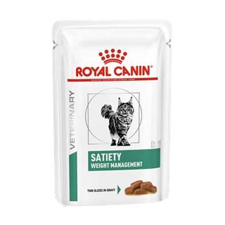 Ração Úmida Royal Canin Veterinary Diet Satiety Para Gatos Adultos