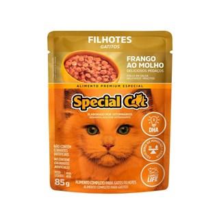 Ração Úmida Special Cat Sabor Frango Para Gatos Filhotes