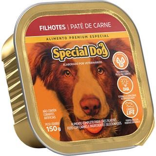 Ração Úmida Special Dog Patê De Carne Para Cães Filhotes