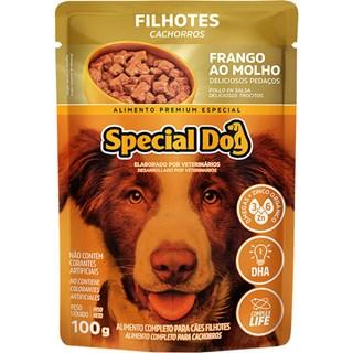 Ração Úmida Special Dog Sabor Frango Para Cães Filhotes